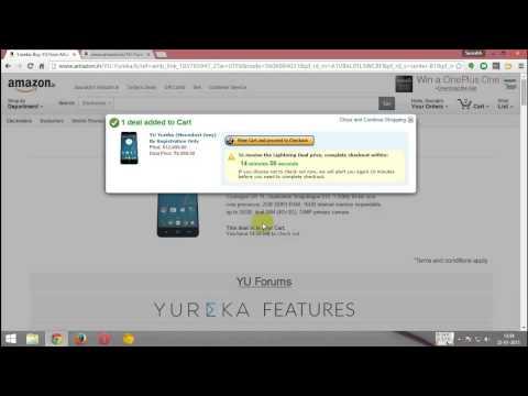 Amazon: Micromax Yu Yureka : Successful Purchase : January 22, 2015