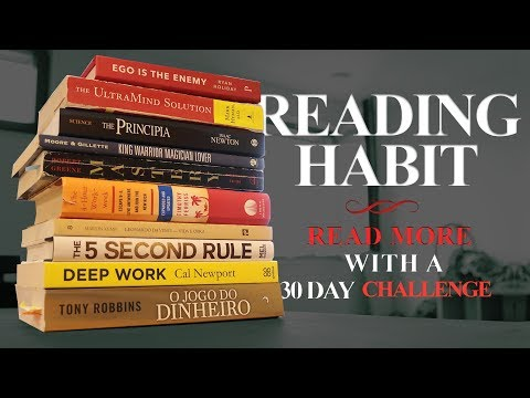 Creating a Reading Habit - How to Read More (30 day Challenge) | Road Delta