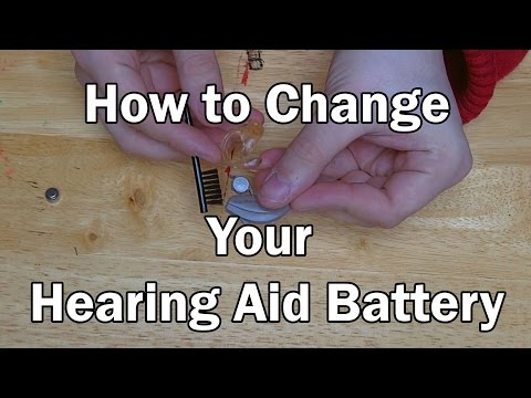 HOW TO: Change your Hearing Aid Battery