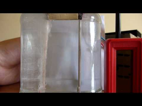 Electrolysis of saltwater (NaCl) with copper electrodes