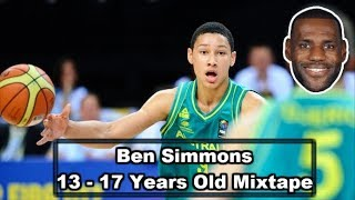Ben Simmons Highlights Mixtape {13-17 YEARS OLD!}