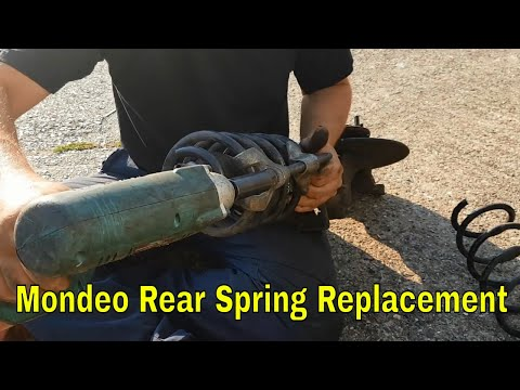 Ford Mondeo MK3 Rear spring replacement Project ST220