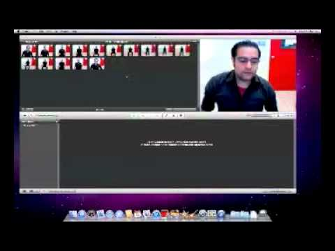 Using Photo Booth and iMovie for Pixilation