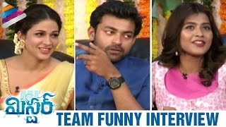 Varun Tej Makes Fun of Hebah Patel | Mister Movie Team Interview | Lavanya Tripathi | Sreenu Vaitla