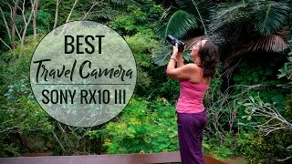 Sony RX10 III Review - In Jungle w/Apes & Beaches l Best Travel Camera