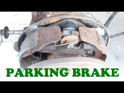 Parking Brake Replacement: Drum on Rear Disc Brake