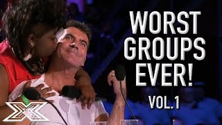 The WORST GROUP AUDITIONS On X Factor! Volume 1   X Factor Global