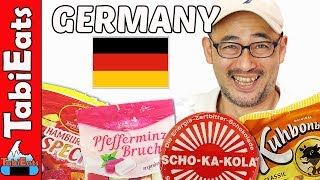 Japanese Try German Snacks (from Hamburg, Germany)