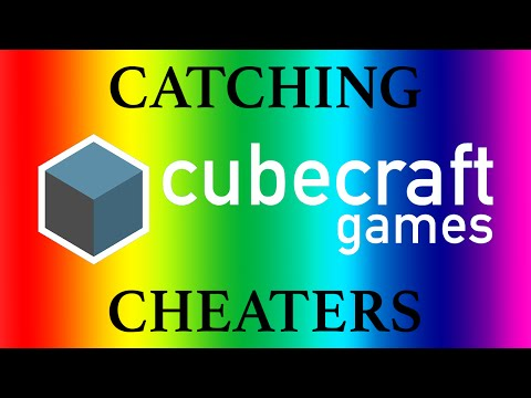 Catching Cheaters #1 Cubecraft: Eggwars