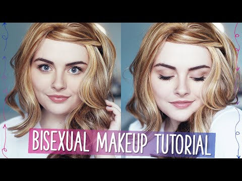BISEXUAL MAKEUP TUTORIAL