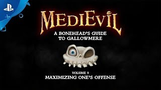 MediEvil - A Bonehead's Guide to Gallowmere: Maximizing One's Offense  | PS4