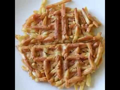 French Fries Waffle - Recipe (Easy)