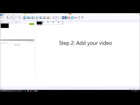 how to make low quality videos on windows movie maker