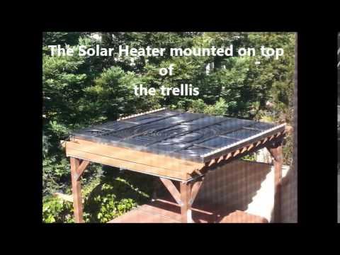 DIY SOLAR WATER HEATER-BONG