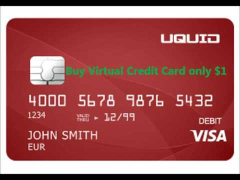 Virtual Credit Card for only $1