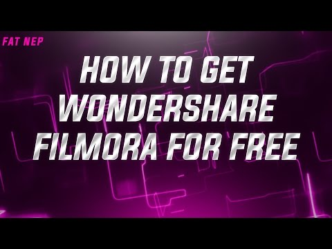 HOW TO GET WONDERSHARE FILMORA// FOR FREE// 100% WORKING// 2017
