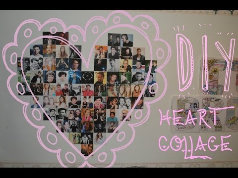 First video :) DIY Heart Collage