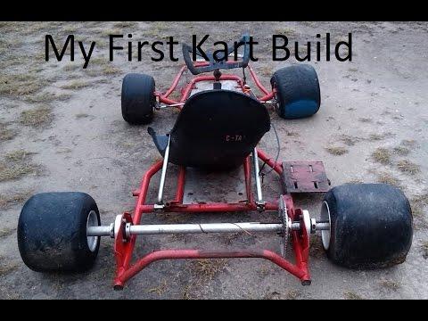 My First Go Kart Build Part  1 (BMI Build)