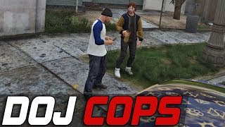 Dept. of Justice Cops #428 - Undercover Operation