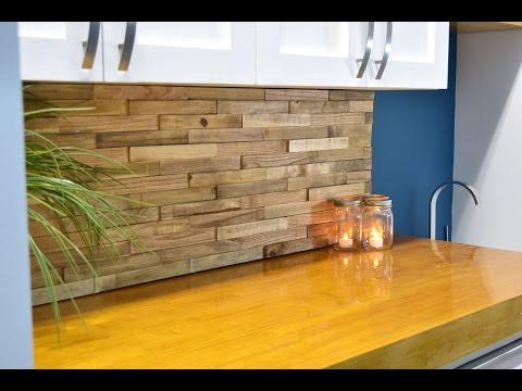 Backsplash From Reclaimed Pallets | DIY Build