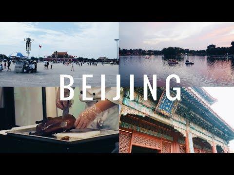 BEIJING 北京 VLOG: LLAMA TEMPLE, ROAST DUCK, PEKING UNI & NIGHT MARKET | viola helen