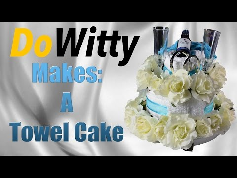 How To Make A Towel Cake!