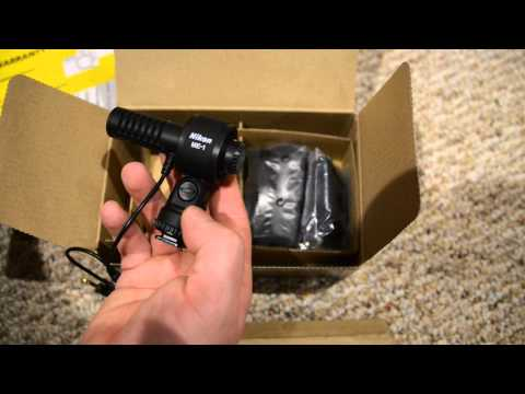 NIkon microphone Me-1 unboxing