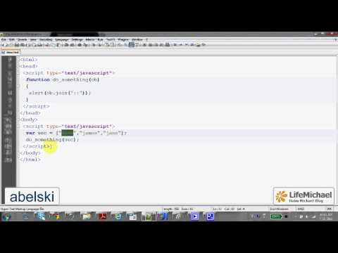 The Array join Function in Java Script