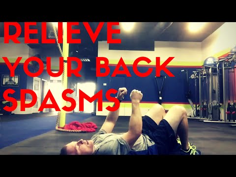 How to Relieve Back Spasms - Watch How Simple It Can Be to Fix