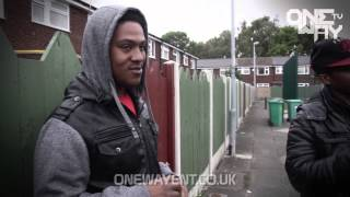 ONE WAY TV | LIL MAZ & LIL D BACK2BACK FREESTYLE (BEAT PROD BY @LILMAZ91)