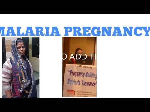 Malaria in pregnancy Hindi