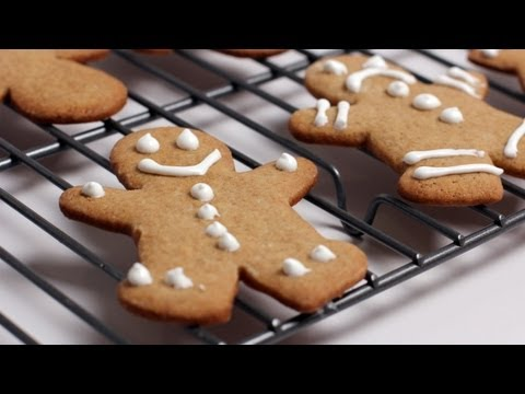 Gingerbread Man Cookie Recipe - Laura Vitale - Laura in the Kitchen Episode 253