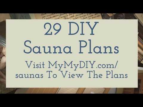 29 DIY Saunas You Can Build [Ranked]