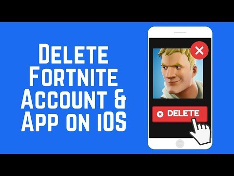 How to Delete Your Fortnite Account & App on iPhone or iPad 2018