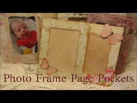 Photo Frame Page Pockets