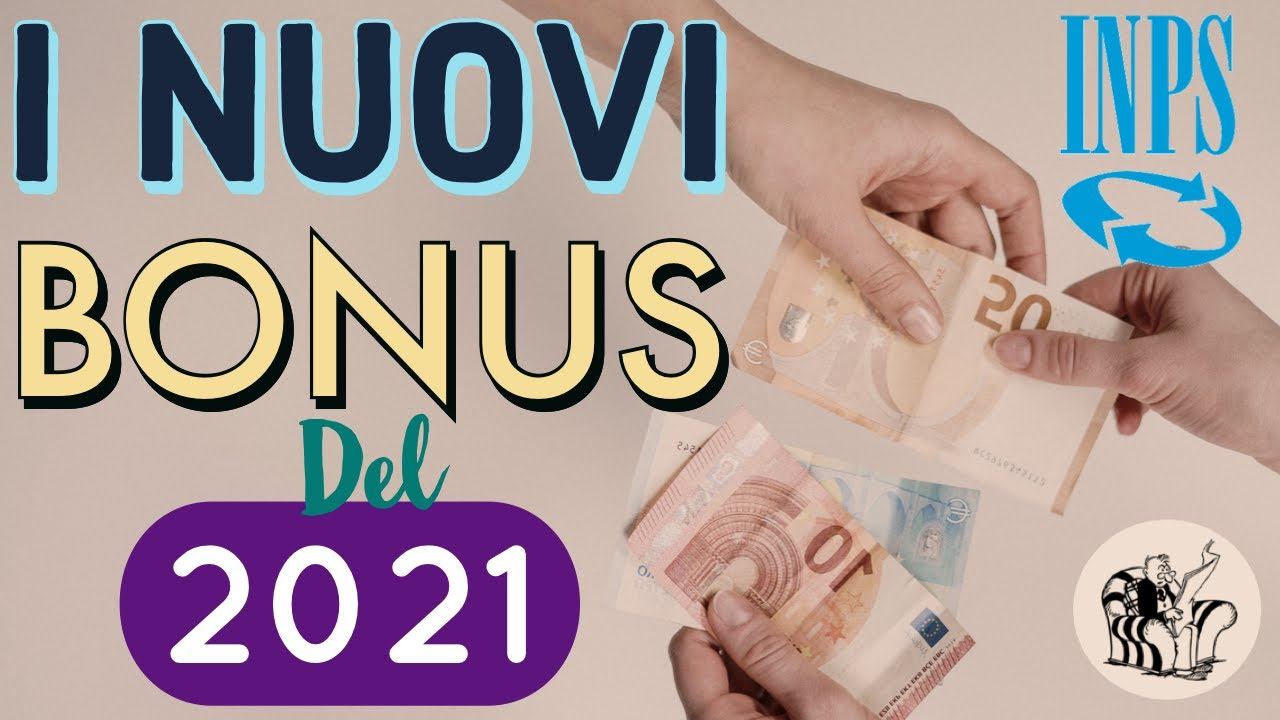 NUOVI BONUS INPS IN ARRIVO 👉 da GENNAIO 2021 💰