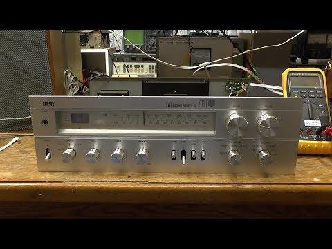 Loewe TA 4000 Receiver Phono Noise Diagnosis