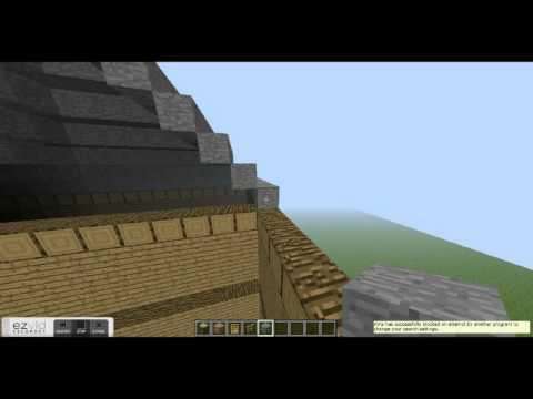 Minecraft masion tutorial part 3