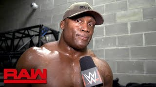 Bobby Lashley makes his ambitions clear: Raw Exclusive, April 9, 2018