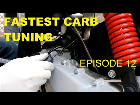 FASTEST CARB TUNING & JET SWAP (FASTER SCOOTER - EPISODE 12)