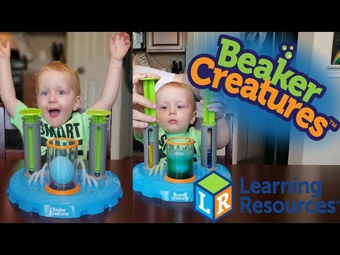 Beaker Creatures Liquid Reactor Super Lab from Learning Resources!!