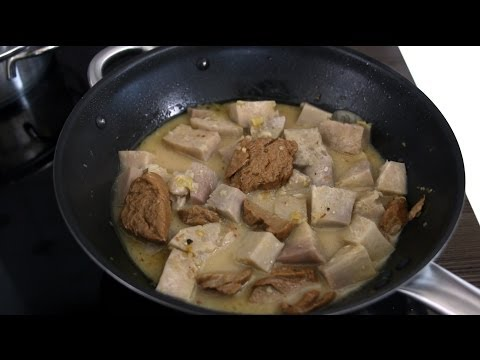 Vịt nấu chao chay (Mock Duck with Fermented Tofu - Vegetarian Recipe)