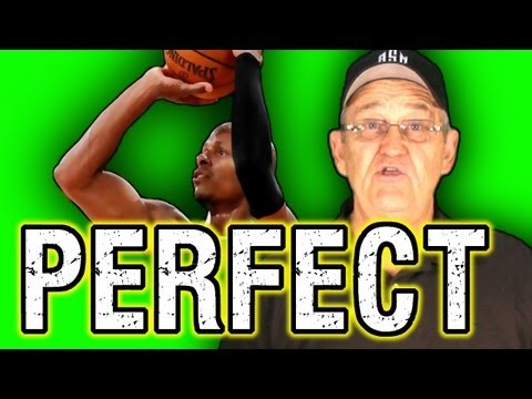 Get Perfect Shooting Form!  (Form Shooting Drill) --ShotScience Basketball