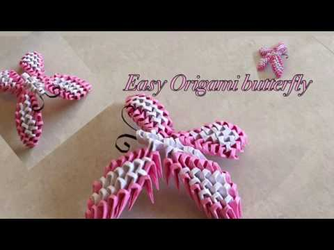Easy and Simple 3D Origami Butterfly 🦋 | Priti Sharma