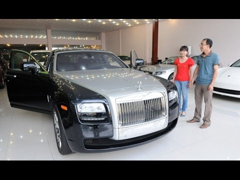 BUYING A ROLLS ROYCE WITH CASH!!