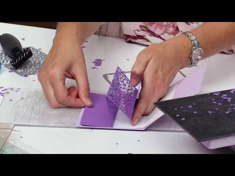 How to Use Background Dies to Create 3D Pop-Up Cards   Stephanie Barnard   Sizzix