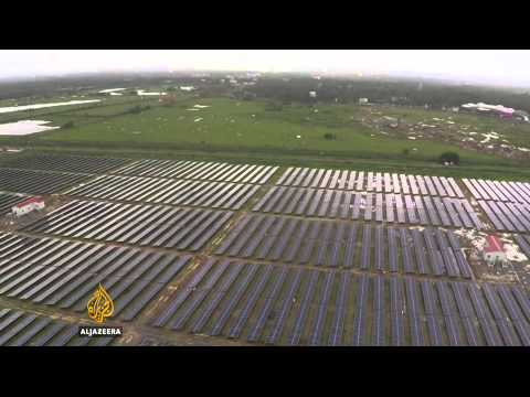 India launches world's first solar powered airport