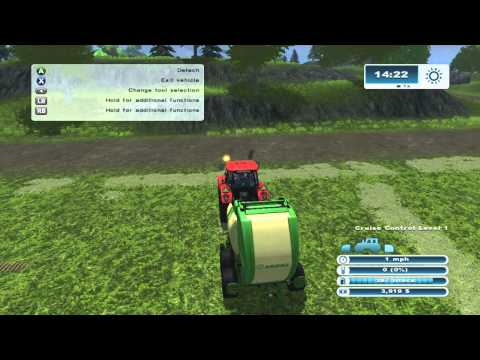 Farming Simulator 2013 Xbox 360 Lets Play ep.21 More bales and do we sell some crops??