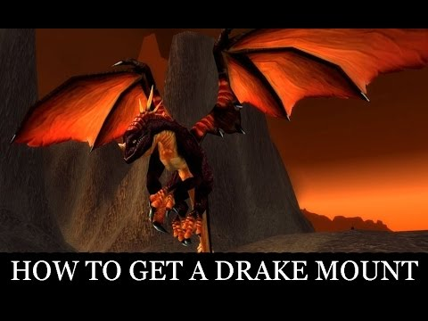 EASY: How To Get The Black Drake Mount In WoW