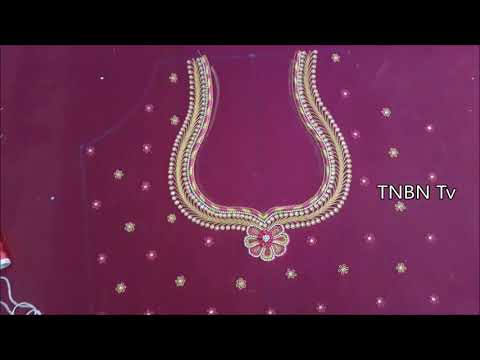 aari work blouse designs with price | maggam work blouse designs | hand embroidery stitches